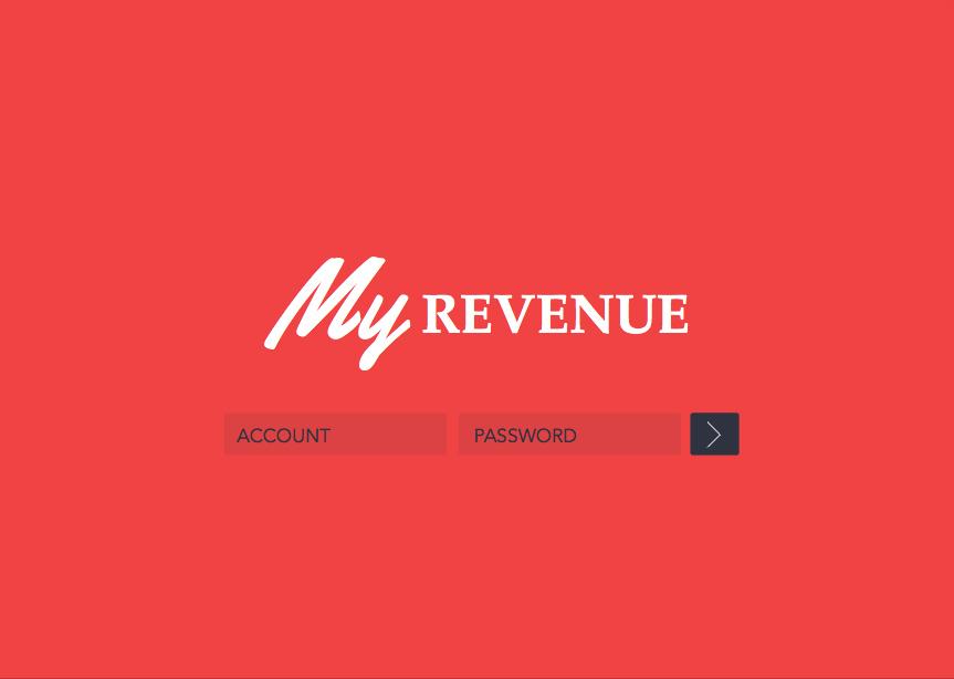 UI / UX – My revenue